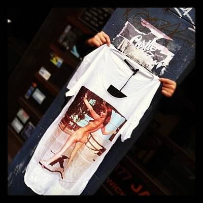 Nude Wall Art - Photograph - Street Style Shopping. #t-shirt #street by Brett Pugsley