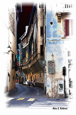 Photograph - Streets Of Florence 4 by Allan Rothman