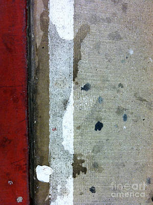 Streets Of New York Abstract Twelve Art Print by Marlene Burns
