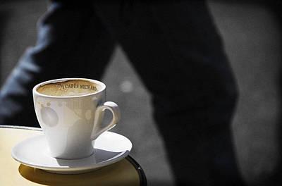 Photograph - Streetside Cafe by RicharD Murphy