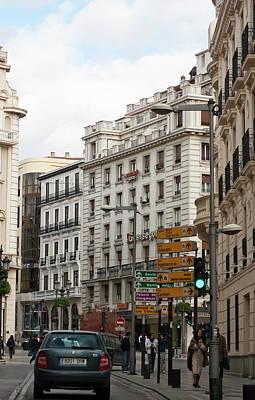 Photograph - Streetside Granada by Lorraine Devon Wilke