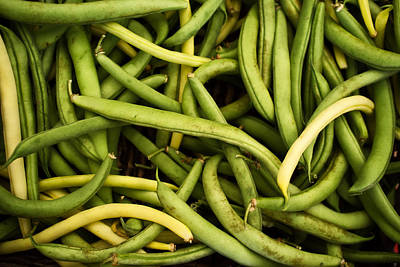 String Beans Art Print by Tanya Harrison
