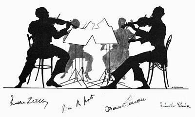 String Quartet, C1935 Art Print by Granger