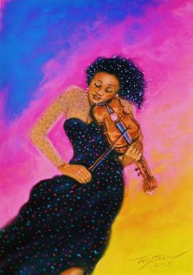 Pastel - String Serenade by Terry Jackson
