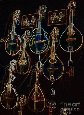 Gretsch Photograph - String Sounds by David Bearden