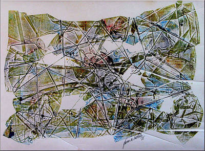 Mixed Media - String Theory 1985 by Glenn Bautista