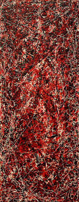 Painting - String Theory Number 8 by Joe Michelli