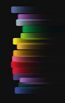 Digital Art - Stripe by Eric Weeber