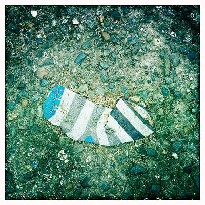 Photograph - Striped Sock by Betse Ellis