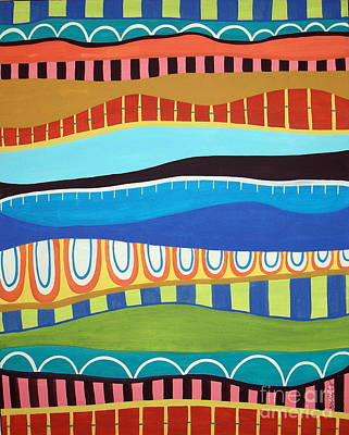 Stripes Art Print by Karla Gerard