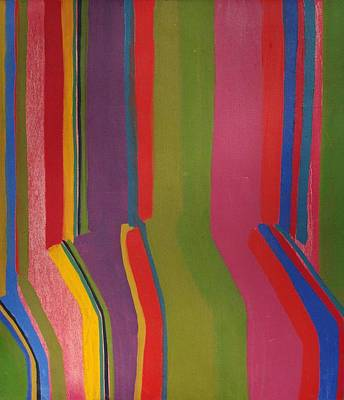 Painting - Stripes by Rick Ahlvers