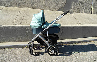 Digital Art - Stroller by Ron Bissett