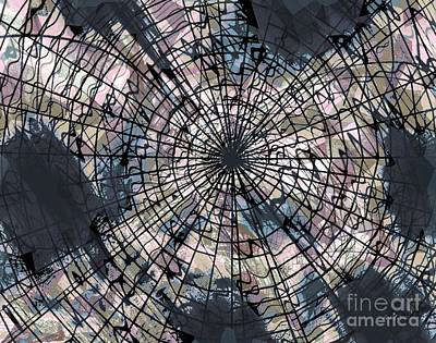 Action Lines Mixed Media - Strong Connection by Fania Simon