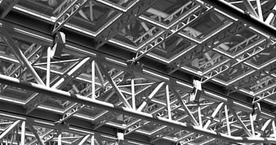 Structural Network Art Print
