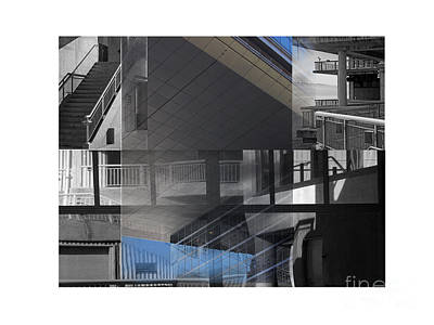Photograph - Structure Montage One by Tom Griffithe
