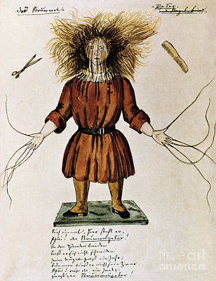 Struwwelpeter Art Print by Photo Researchers