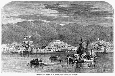 St.thomas, 1868 Art Print by Granger