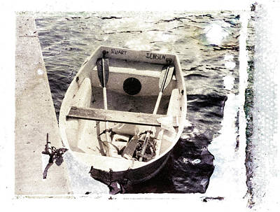 Photograph - Stuart Jensen Rowboat by Patrick M Lynch