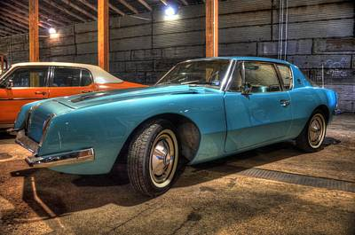 Photograph - Studebaker Avanti by David Morefield