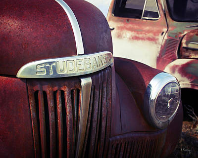 Photograph - Studebaker Truck by Andrea Kelley