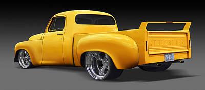Street Rod Photograph - Studebaker Truck by Mike McGlothlen