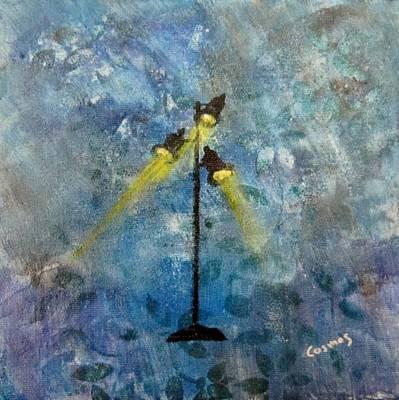 Painting - Studio Lights II by Jarunee Ward