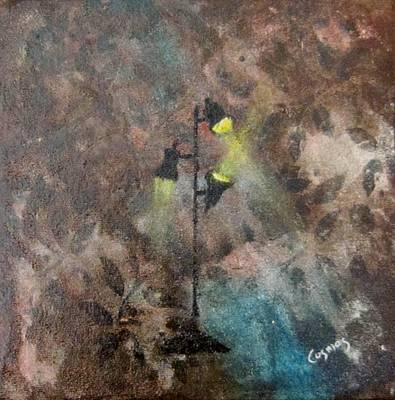 Painting - Studio Lights IIi by Jarunee Ward
