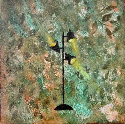 Painting - Studio Lights IIII by Jarunee Ward