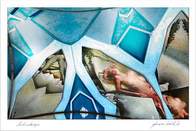 Digital Art - Studionudescape 2003 by Glenn Bautista