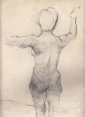 Study 1 Art Print by Brian Francis Smith