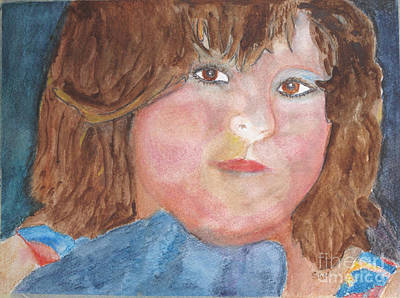 Study Of Sarah Art Print by Sandy McIntire