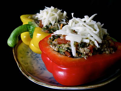 Photograph - Stuffed Peppers by Rhonda Jones