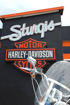 Sturgis Harley Store Art Print