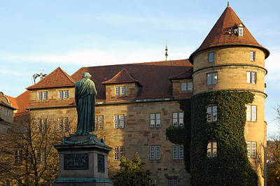 Photograph - Stuttgart Altes Schloss Old Castle - Germany by Matthias Hauser