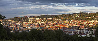 Stuttgart, Germany, Europe Art Print by Jon Boyes