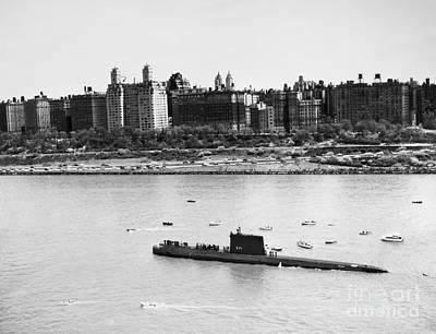 Photograph - Submarine: Uss Nautilus by Granger