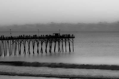 Pleasure Photograph - Subtle Pier by Betsy Knapp