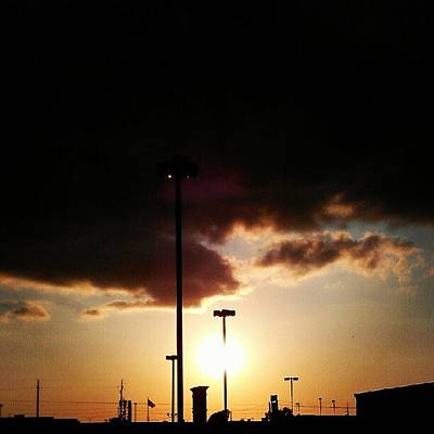 Yummy Wall Art - Photograph - Suburban Sunset by Percy Bohannon