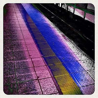 Pop Art Wall Art - Photograph - #subway #newyork by Asaf S
