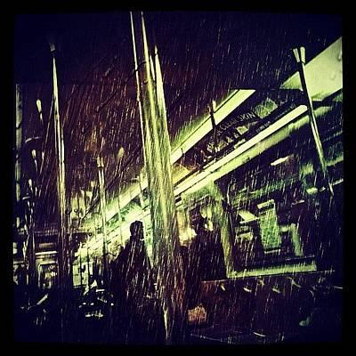 Rain Photograph - Subway Rain by Natasha Marco