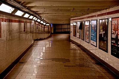 Photograph - Subway Tunnel by Eric Tressler