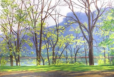 Painting - Suddenly Spring by Phyllis Martino