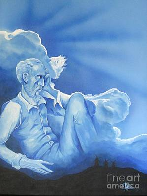 Don Quijote Painting - Sueno Imposible. Impossible Dream by Pilar Ibarreche