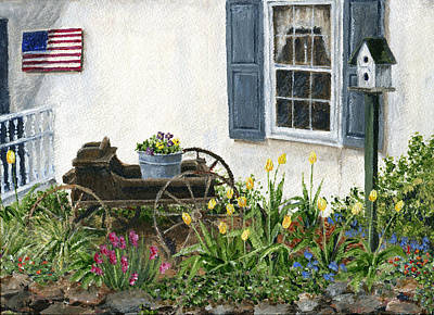 Painting - Sue's House by Margie Perry