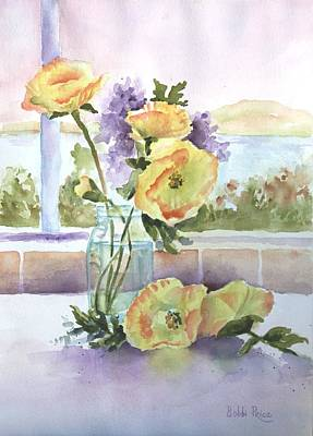 Painting - Sue's Poppies by Bobbi Price