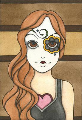 Painting - Sugarcube by Nora Blansett