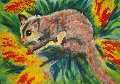 Gondwana Painting - Sugarglider by Jacqui Mckinnon