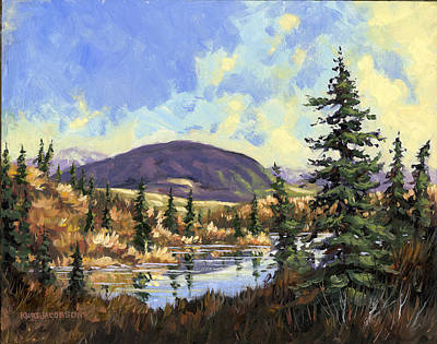 Art Print featuring the painting Sugarloaf Mountain by Kurt Jacobson