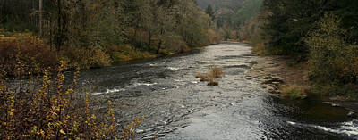 Photograph - Suislaw River Panorama by Mary Gaines
