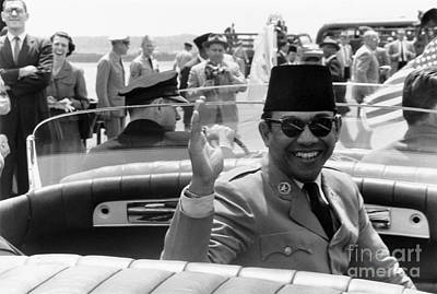 Photograph - Sukarno (1901-1970) by Granger